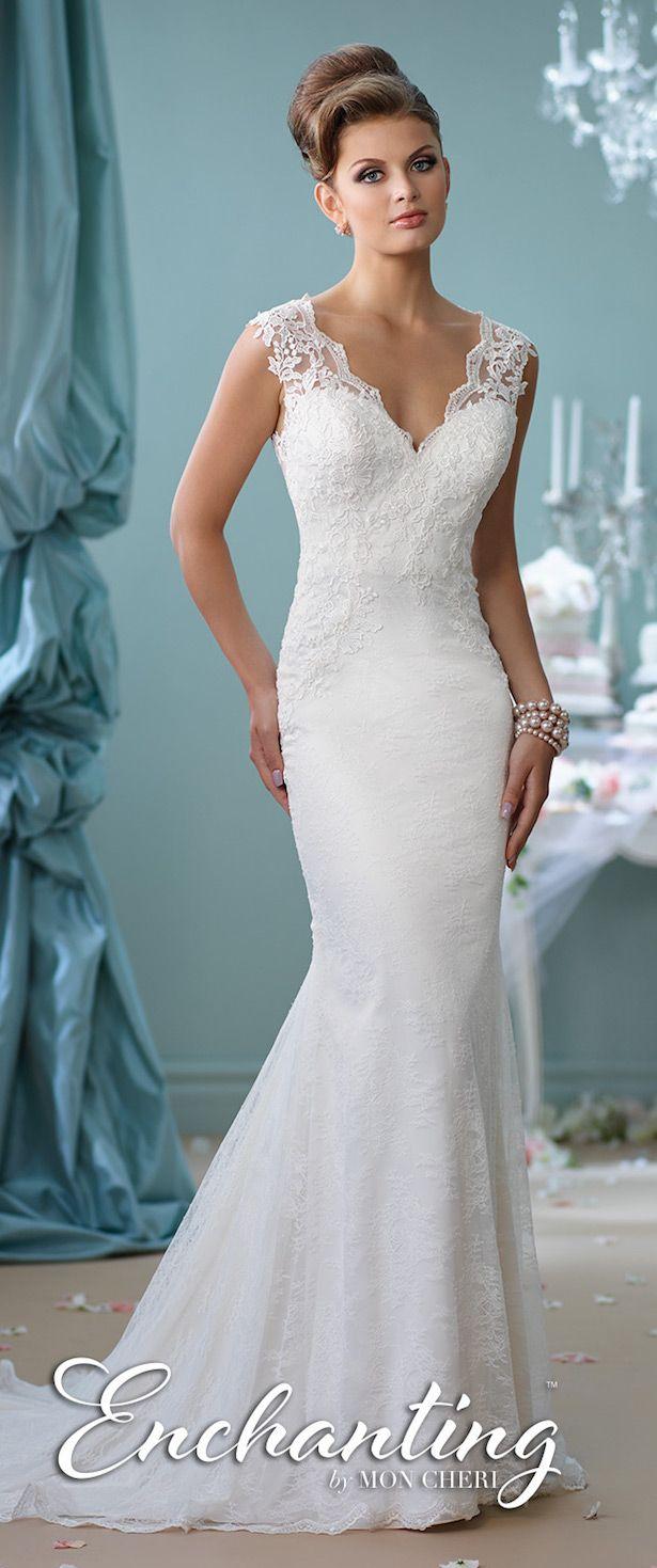 Hermosos vestidos de novias | Coleccion Mon Cheri | Coisas de Noivas ...