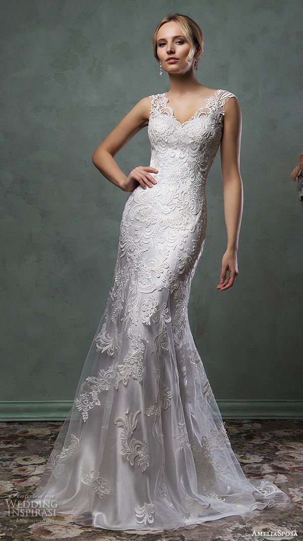 White Wedding Dresses Silver Gowns 2016 Lace Weddings Bridal