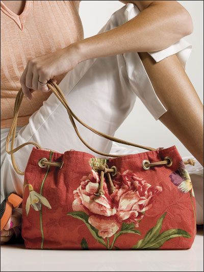 Flower Power / this breezy bag is an e-pattern (was originally ...