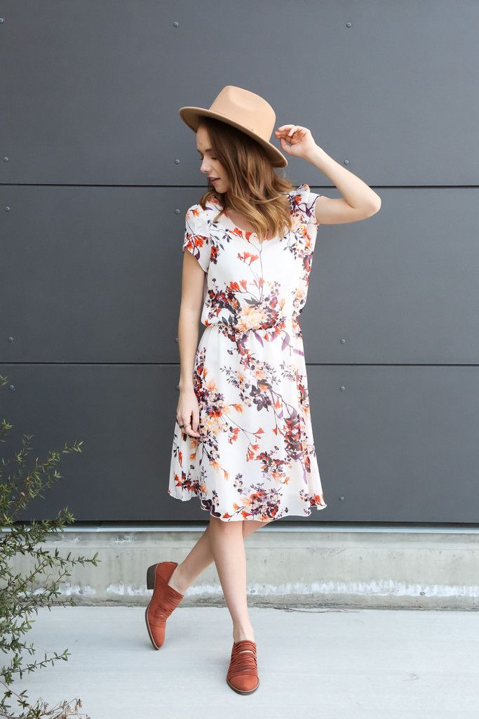 The Point Floral Dress - Piper & Scoot