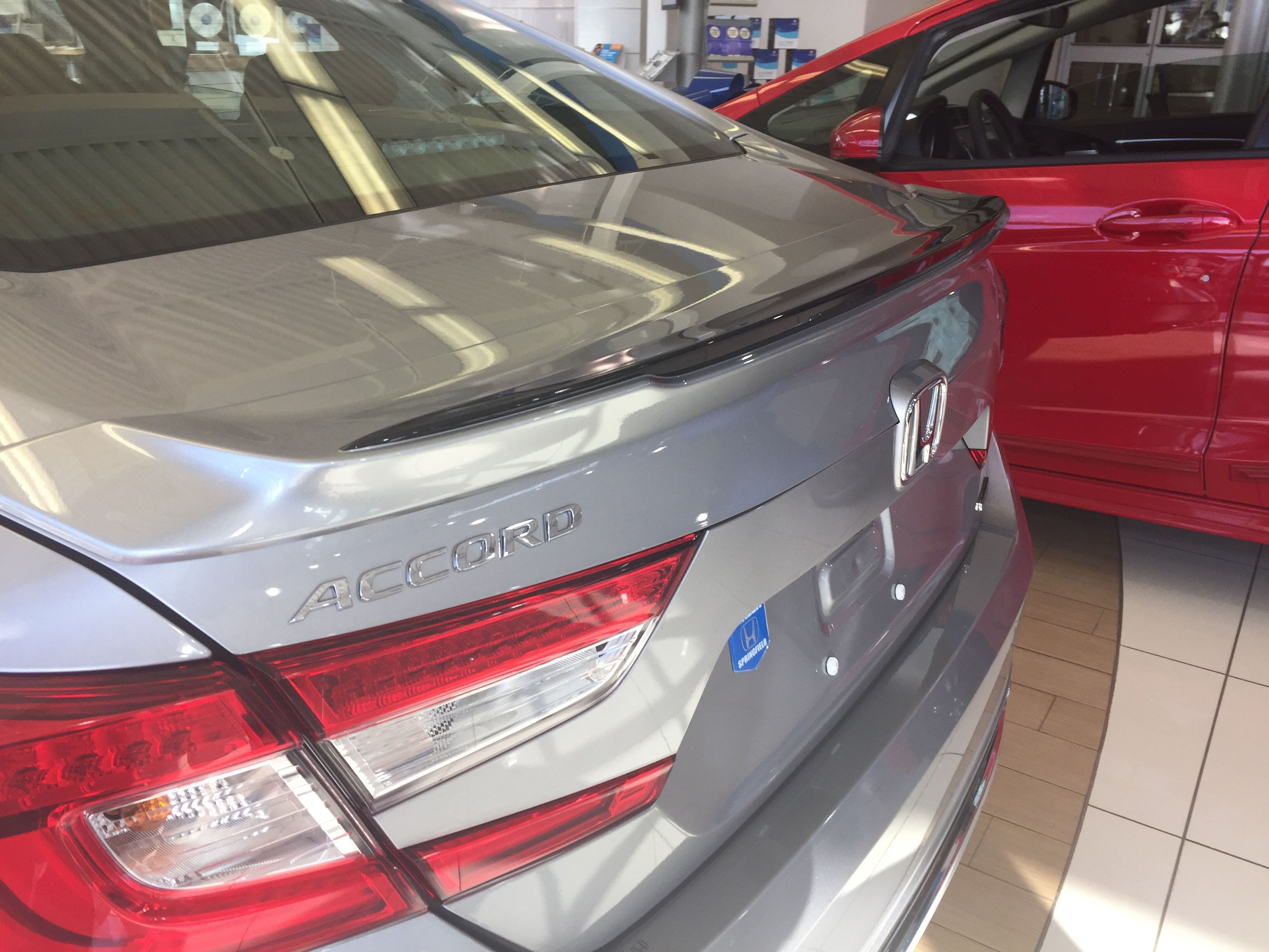 Deck Lid Spoiler Honda Accord Accessories 2018