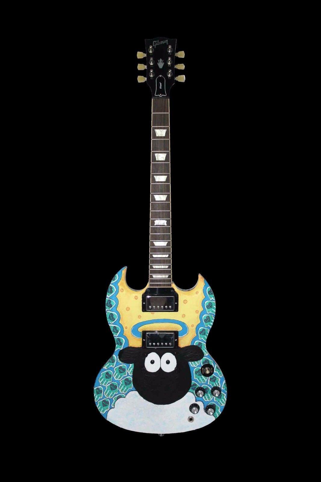 de956550369 Gibson SG Electric Guitar with Etune, custom paint job & hard case Unused