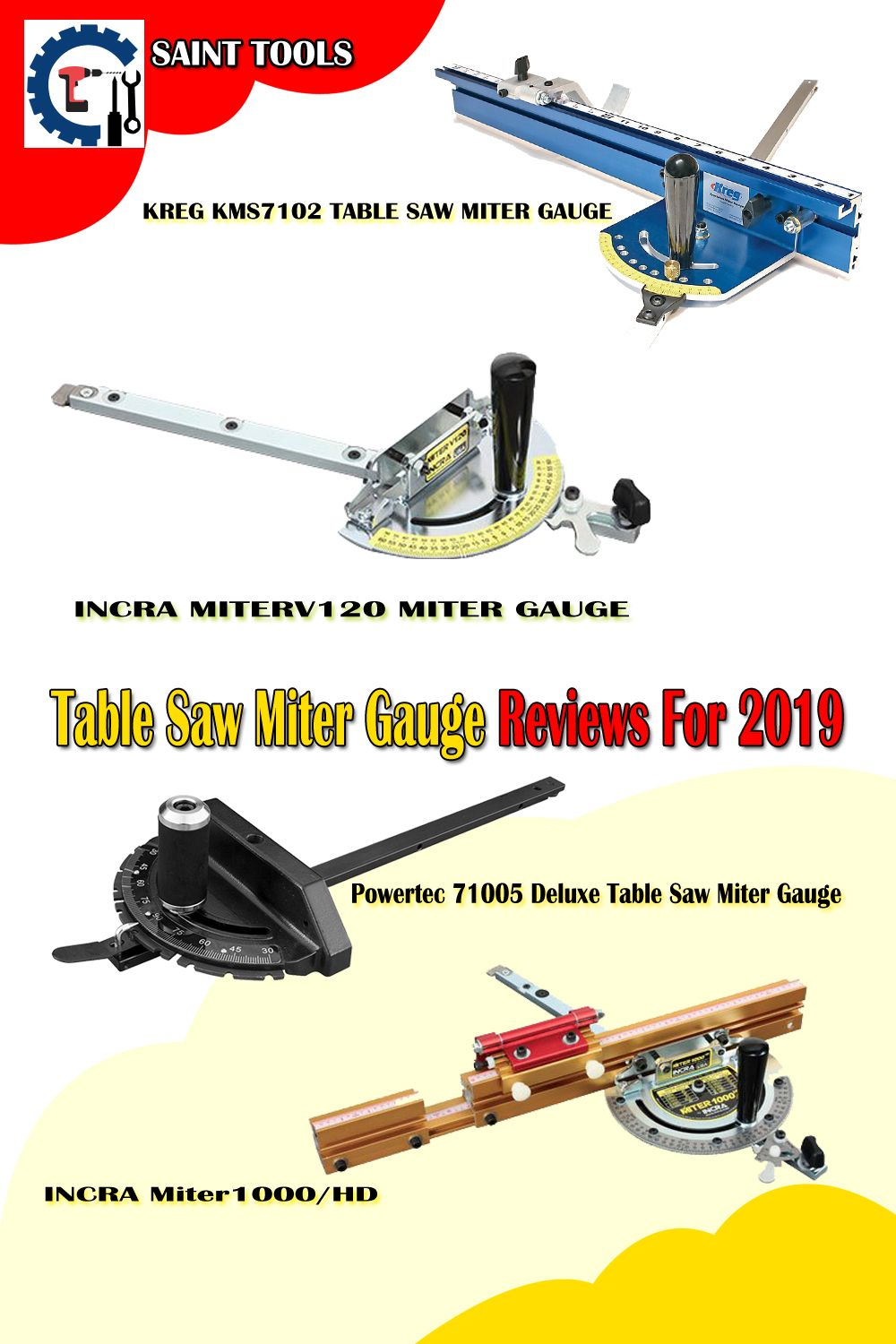Table Saw Miter Gauge Reviews 2020 | Table saw, Best table saw