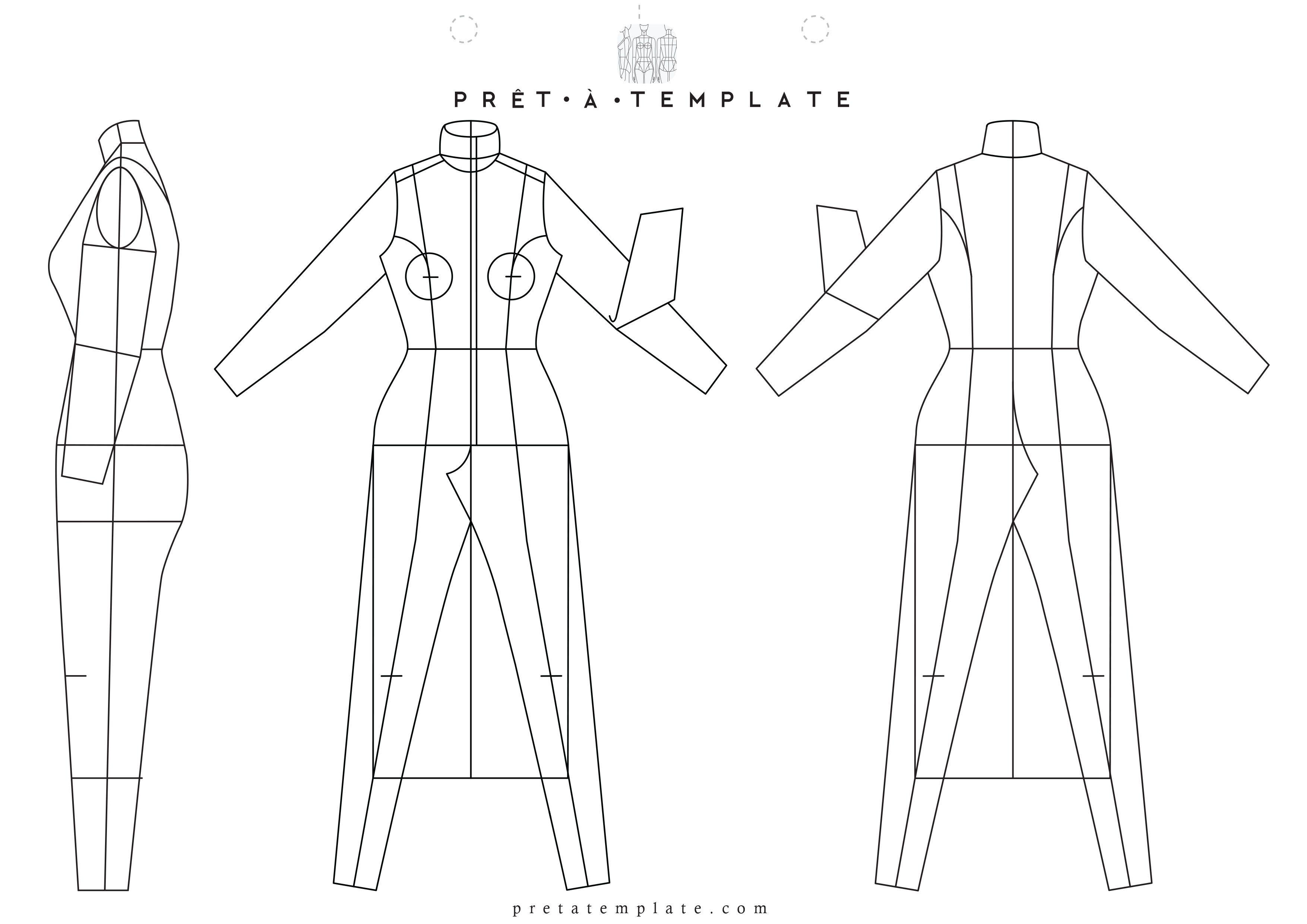 Pin on PRINTABLE TEMPLATES Fashion Figure Templates