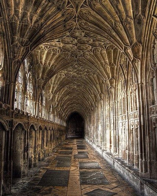 Gorgeous Gloucester Cathedral England