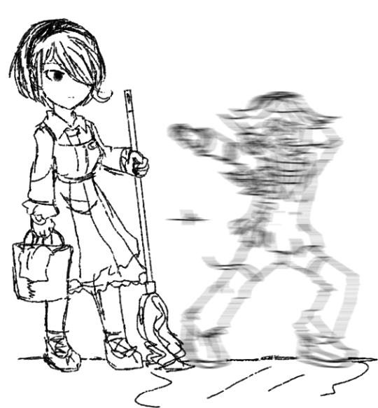 danganronpa v3 ultimate surpreme leader kokichi oma ultimate maid toujou