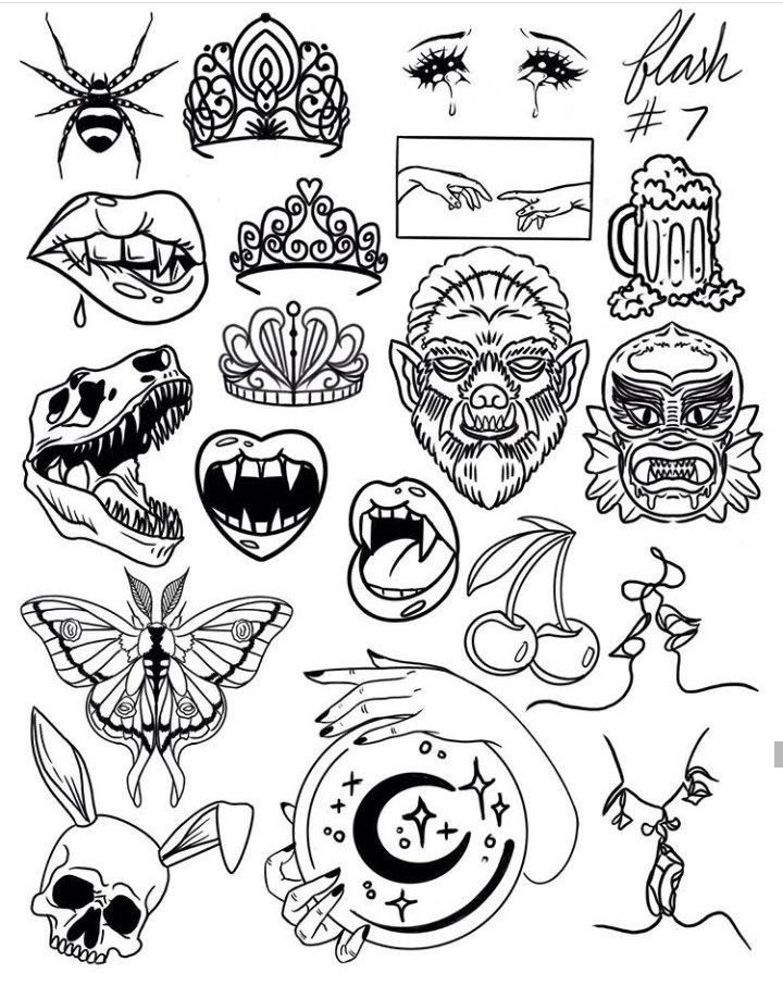 Photo of TATTOO OLD SCHOOL COLORING PAGES – FLASH TATTOO INSPIRATIONS