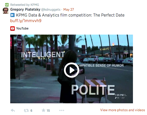 Perfect date dating video
