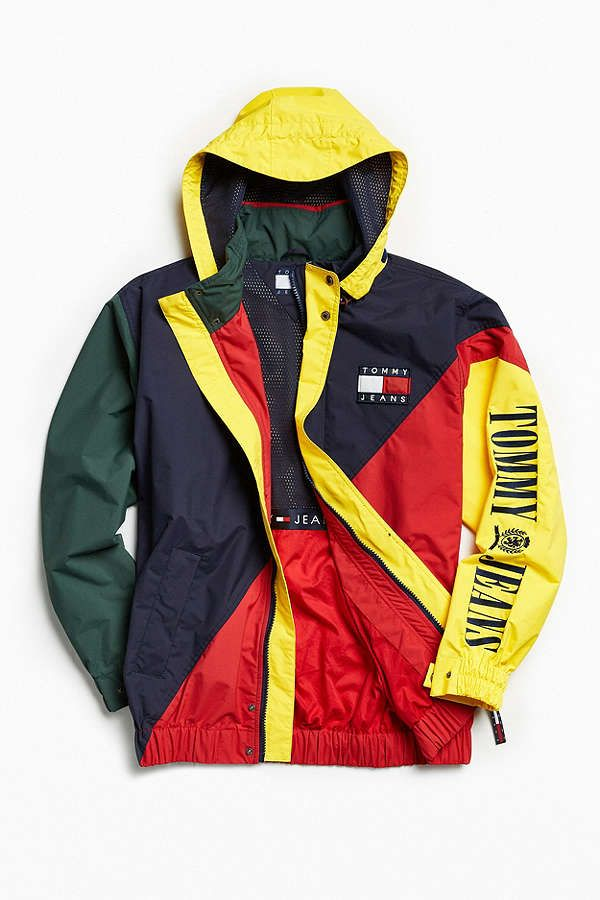 8383a4e7 Tommy Hilfiger Colorblocked Sailing Jacket in 2019 | Menswear ...