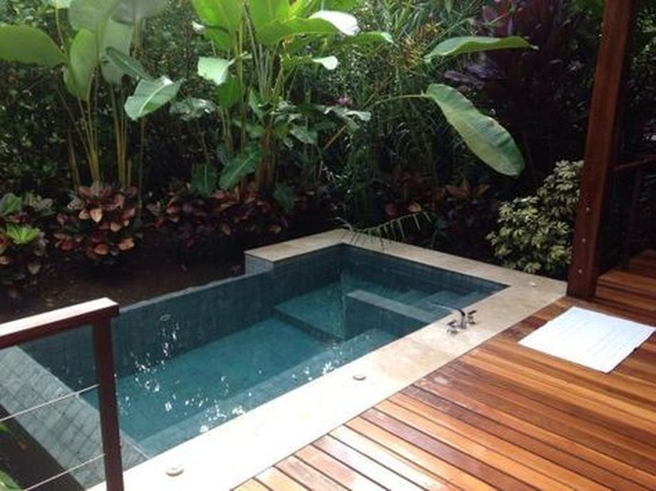 Awesome Small Pool Design Ideas For Home Backyard Hoommy Com Small Pool Design Small Backyard Pools Small Pools