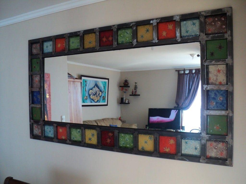 espejos artesanales con vitrofusion espejos pinterest