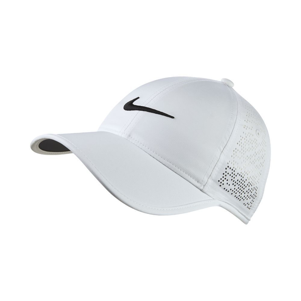 5597a9a9 Nike Perforated Women's Adjustable Golf Hat (White) #GolfHat | Golf ...