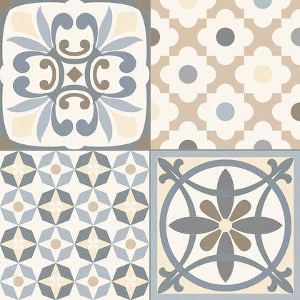 Carrelage Style Ancien Ciment Gris Heritage Grey 33x33 Cm A L