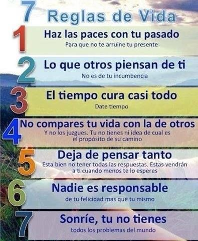 7 Reglas de Vida