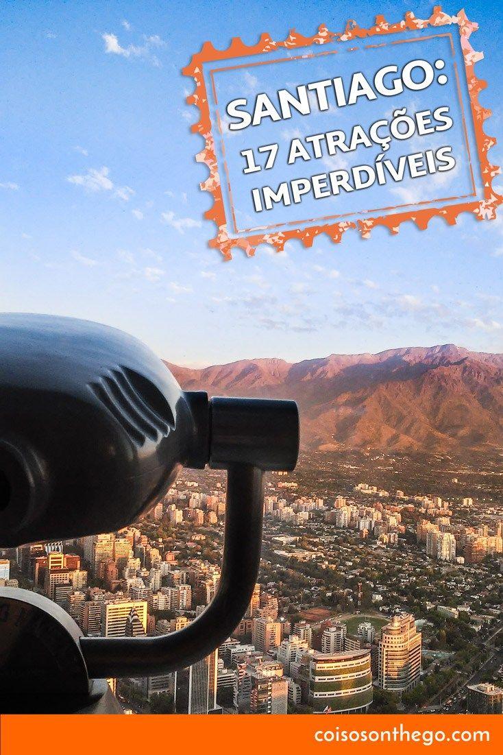 527b09de4fd6a O que fazer em Santiago  passeios imperdíveis   Chile, Turisticos e ...