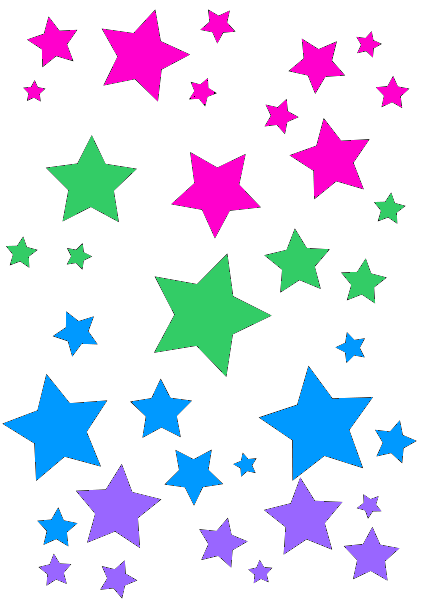 Black pink and blue stars pink purple blue green stars pinterest black pink and blue stars pink purple blue green thecheapjerseys Gallery