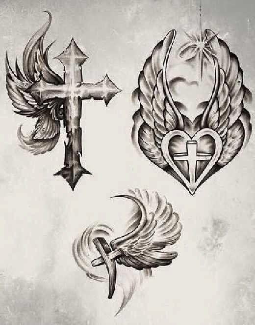 Tatuajes De Cruces Rosarios Y Frases De Fe Tatuajes Tatuaje