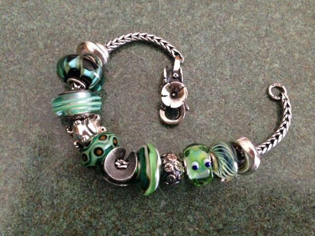 Oh how I love my Trollbeads green froggie!