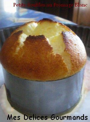 Petits Soufflés au Fromage Blanc - Le blog de mes-delices