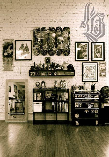 My Office Tattoo Shop Decor Tattoo Shop Interior Tattoo Studio
