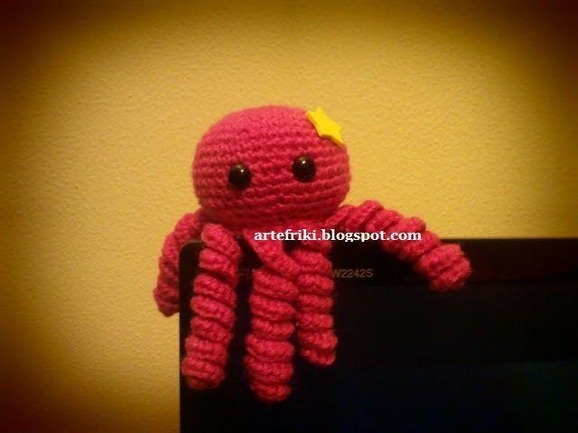 amigurumi pulpo patrón gratis octopus free pattern | LABORES PUNTO ...
