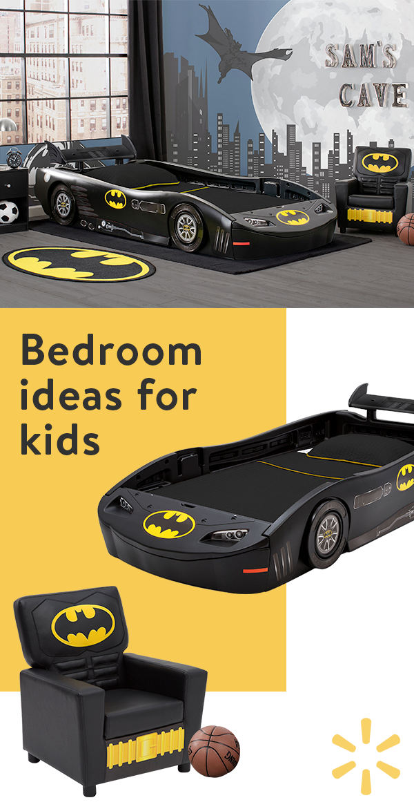 Baby Batman Room Kid Beds Batman Bedroom