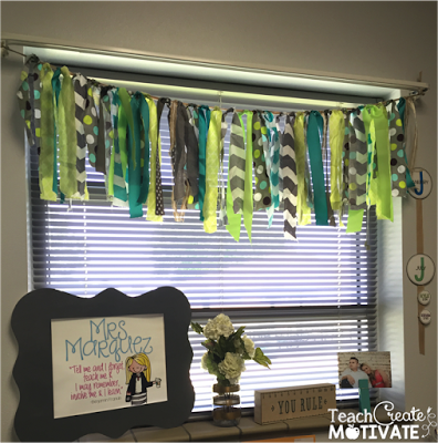 My Classroom Reveal Classroom curtains, Jungle theme