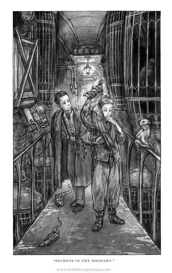 Alek & Deryn - Keith Thompson (Goliath by Scott Westerfeld ...