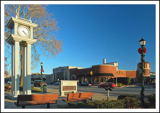 Downtown Dearborn Michigan Ave Wayne Co Mi Dearborn