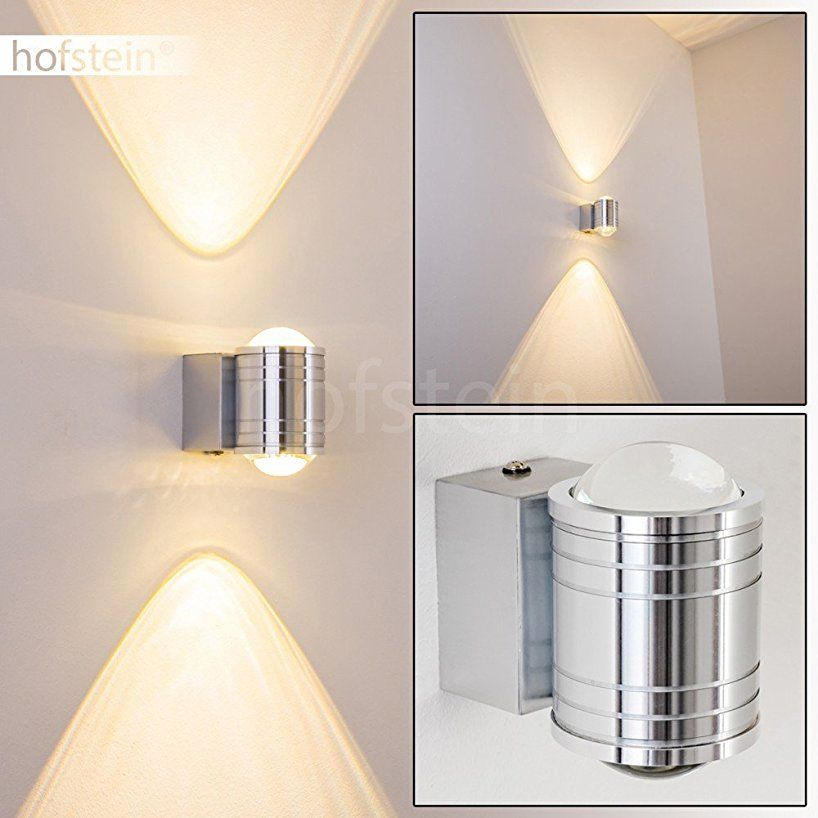 LED Wandlampe Florenz - Wand Leuchte mit 480 Lumen und 3000 ...