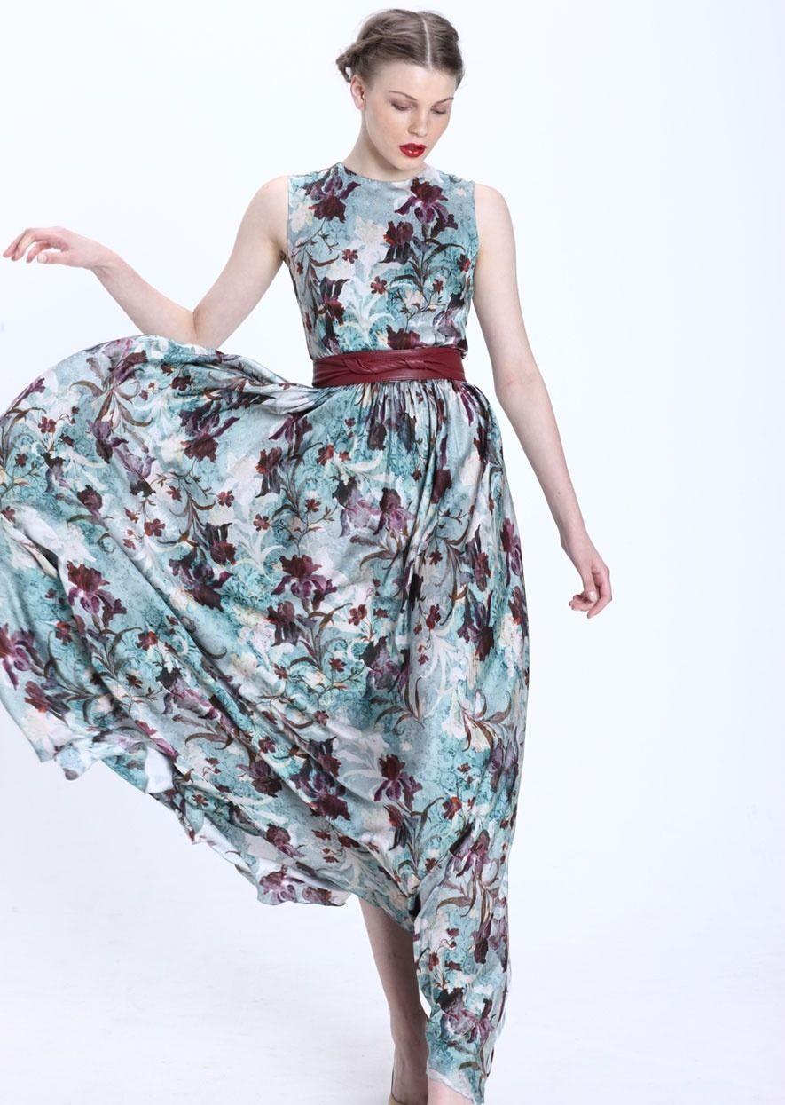 Selma floral Etxart & Panno Tienda Online | vestidos invitadas ...