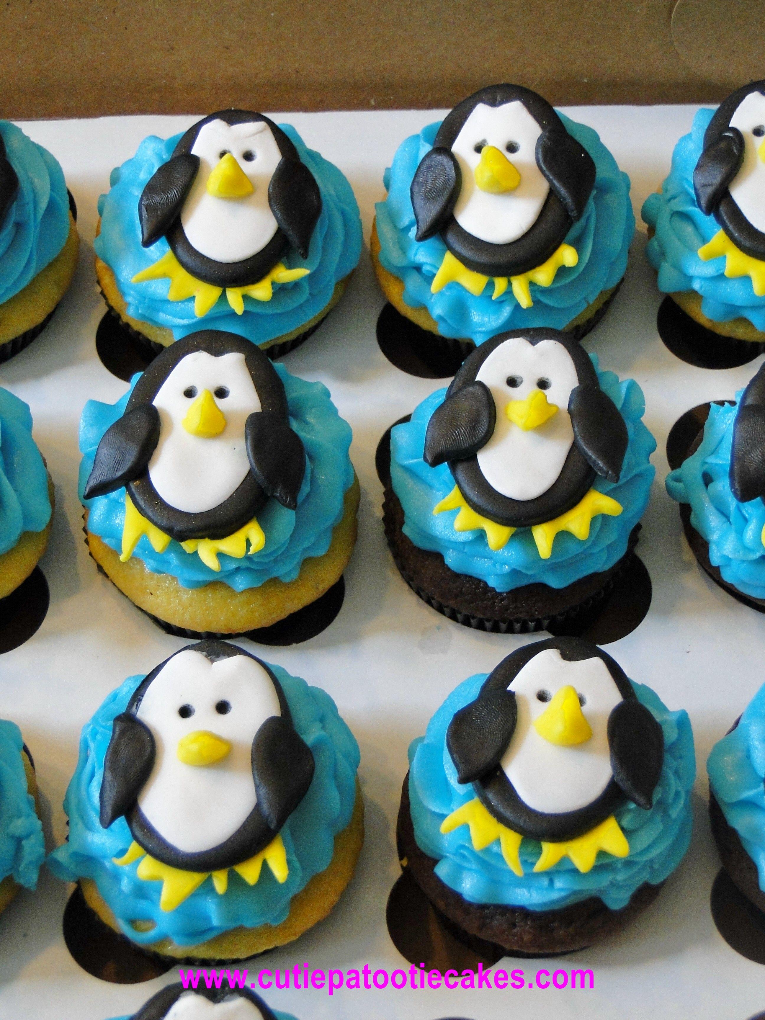 Pinguin Cupcakes Essen Ideen Getränk Pinguine Bachelorette Ideas Can s Bridal Shower