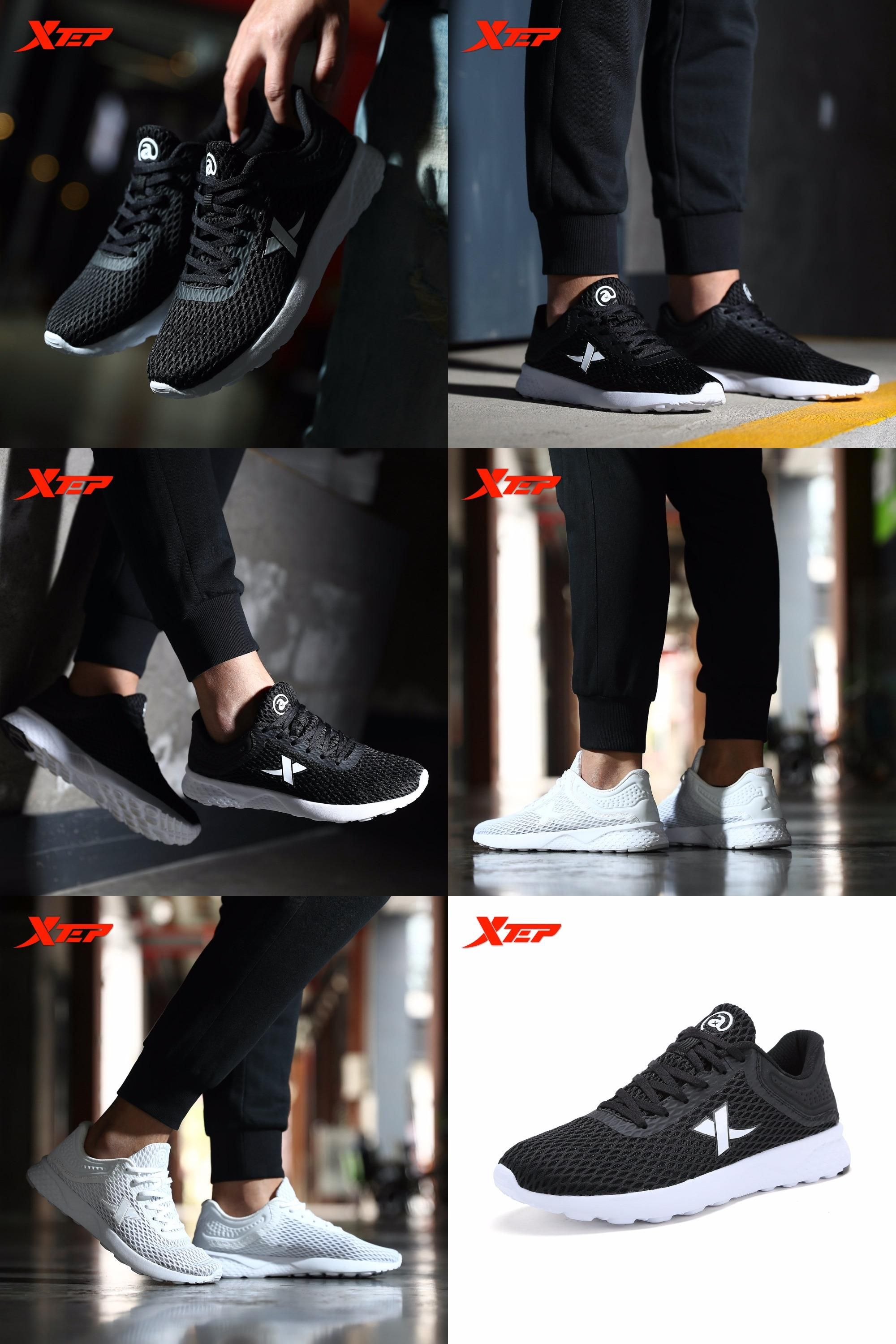 Visit to Buy] XTEP Brand Men's LightWeight Sports Trainers