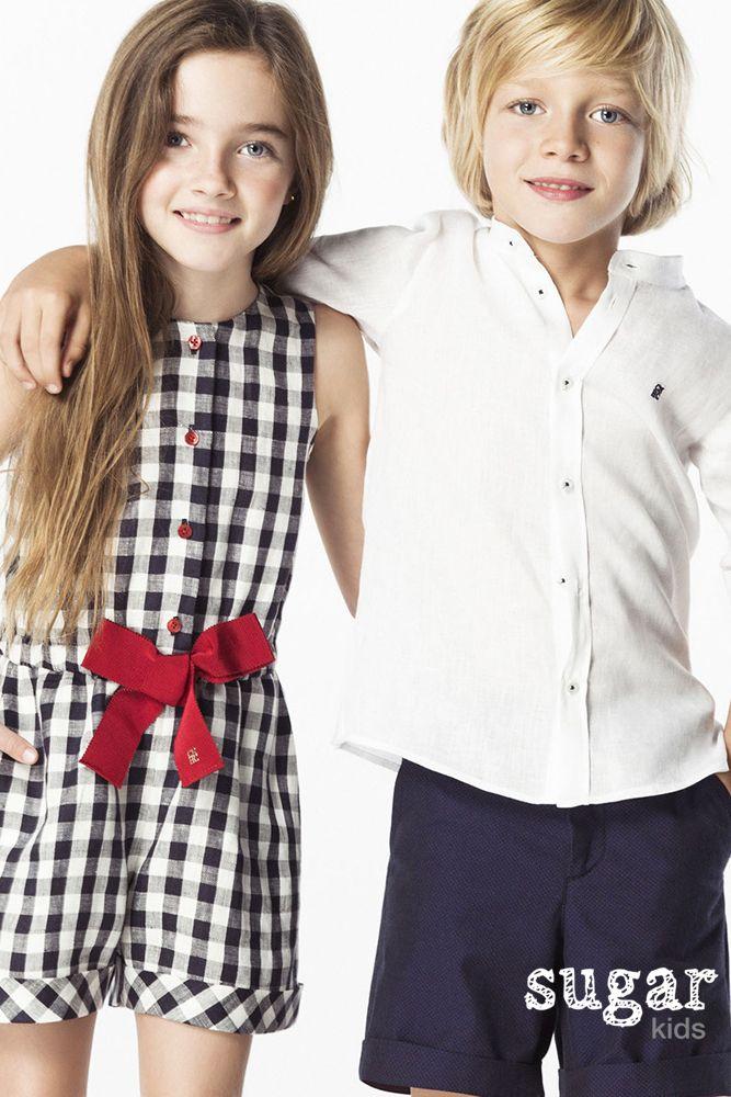a238931ed3 Aroa y Marti de Sugar Kids para Carolina Herrera | Çocuklar modası ...