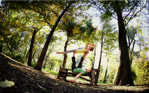 More AcroYoga beauty in New York City from Wari Om and Yoga Journal Conferences.