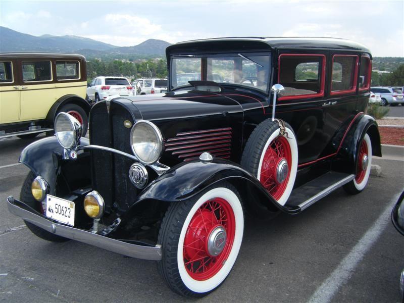 1931 Willys Deluxe Sedan Model 98d