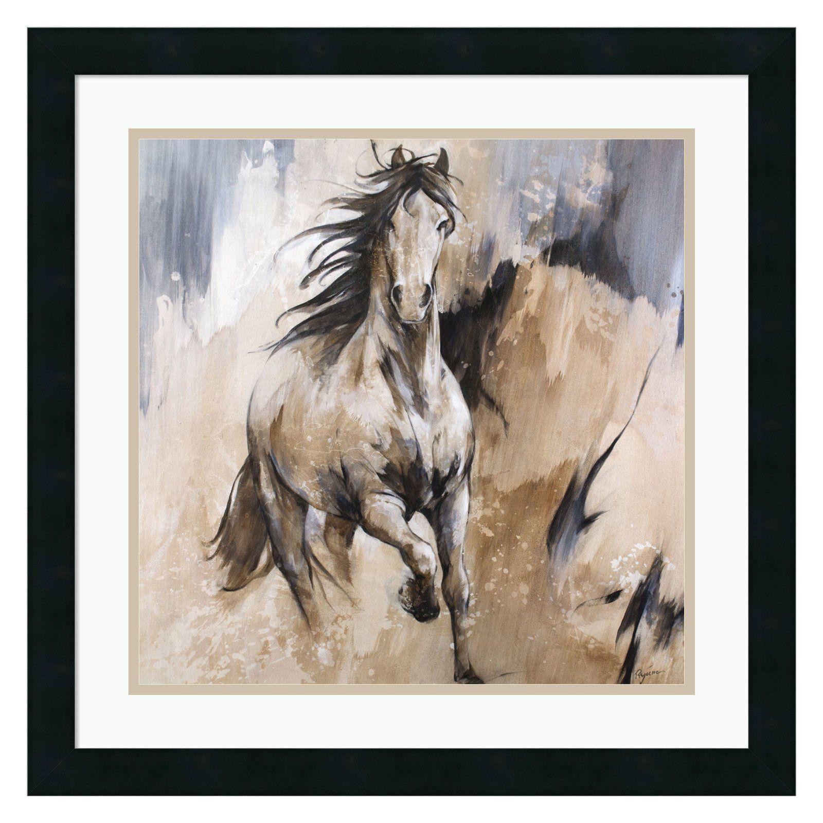 Amanti Art Framed Print Frison Horse By Cyril Reguerre Framed Art Prints Framed Art Amanti Art
