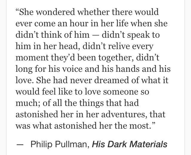 Philip Pullman His Dark Materials Quotes
