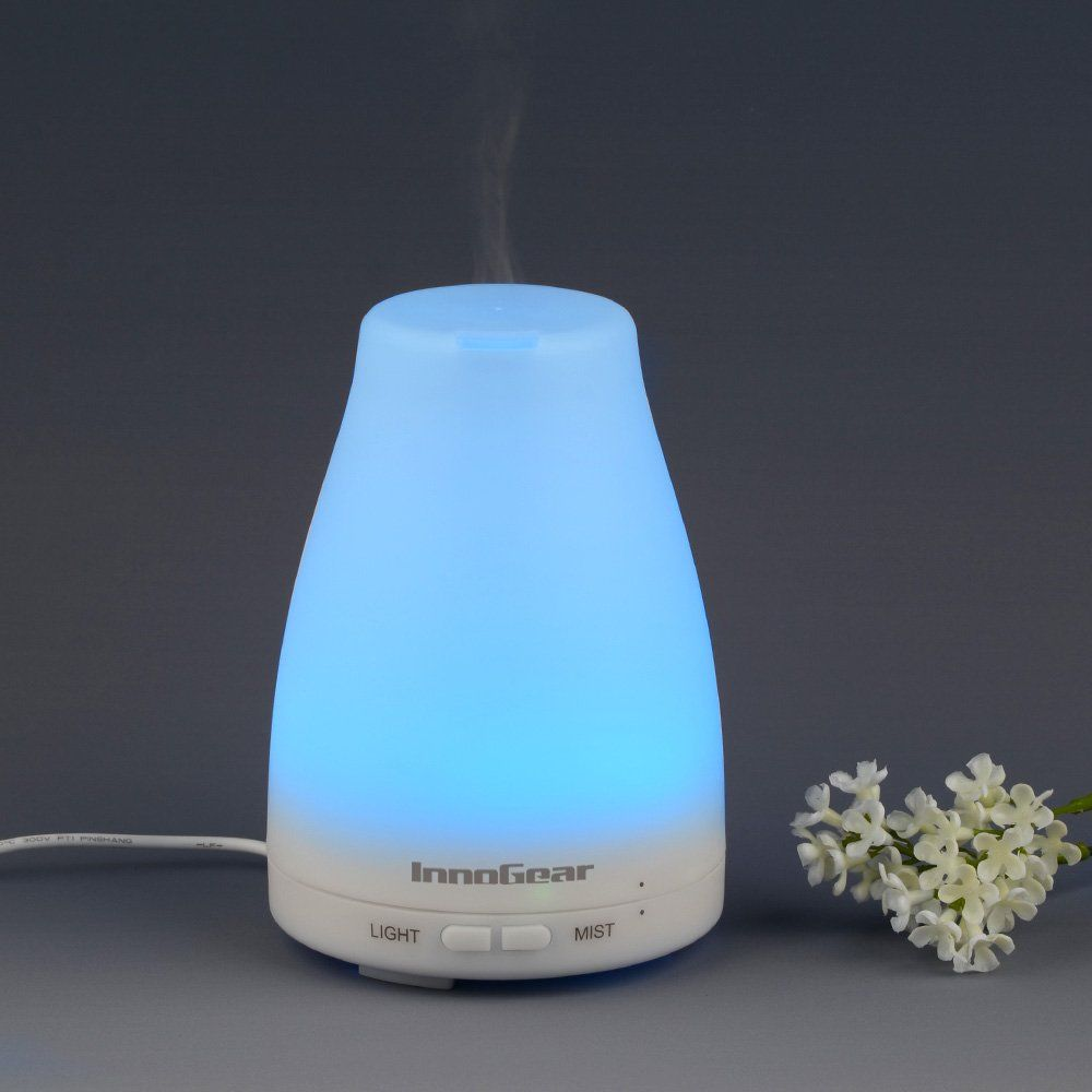 Robot Check Essential Oil Diffuser Reviews Led Color Changing Lights Ultrasonic Essential Oil Diffuser