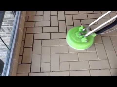 Oreck Commercial Orbiter Floor Machine Porcelain Ceramic Tile Grout Cleaning You