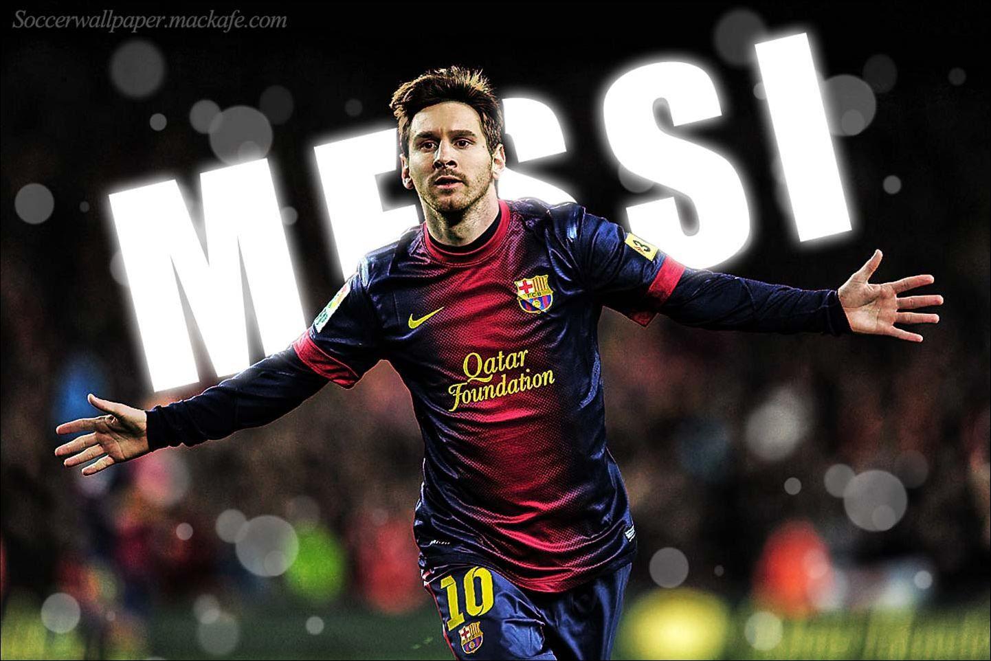 футбол 1 Wallpaper: Lionel Messi Wallpaper Background Download HD