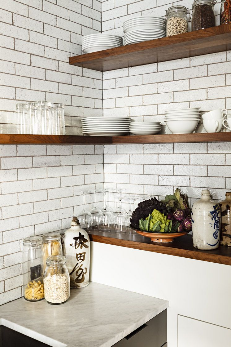Kitchen shelves apartment inspiration pinterest kitchen