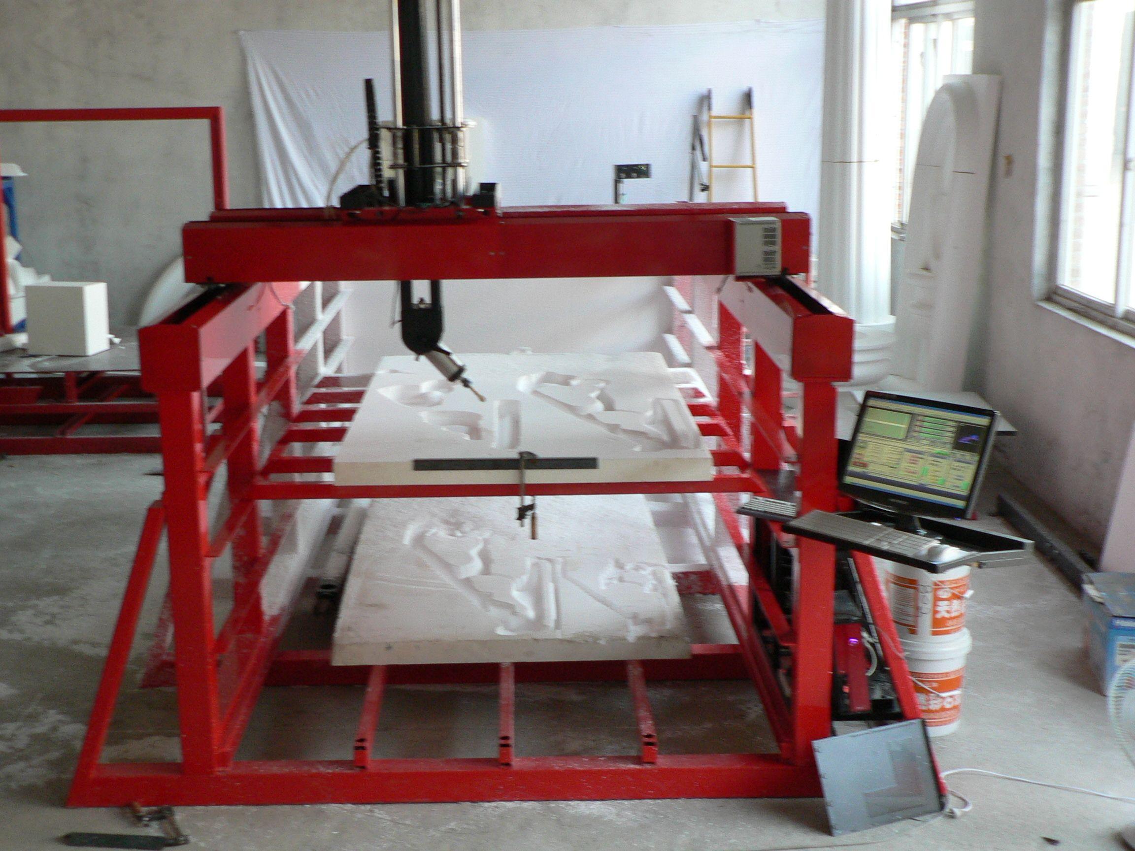 Pin On Foam Cutting Machinery