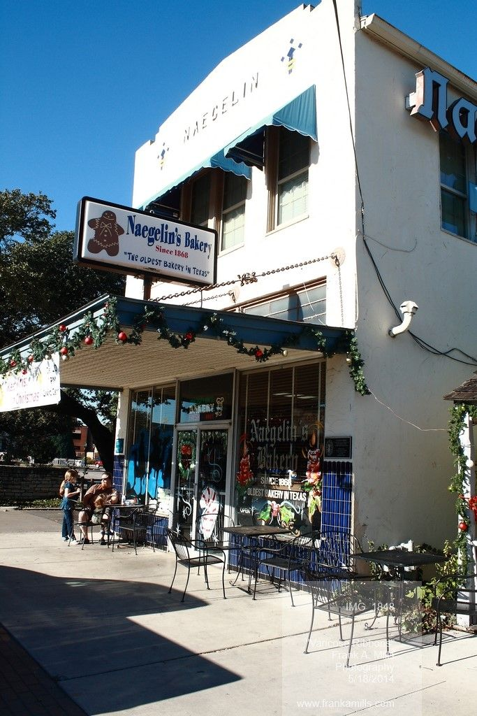 Naegelin\'s Bakery in New Braunfels, Texas is the oldest bakery in ...