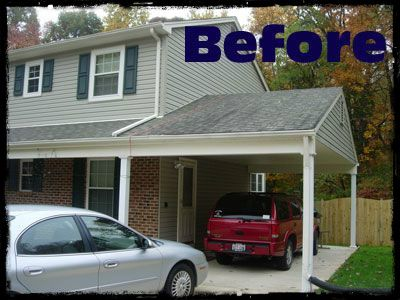 Converting Carport Into A Garage With Images Carport Plans