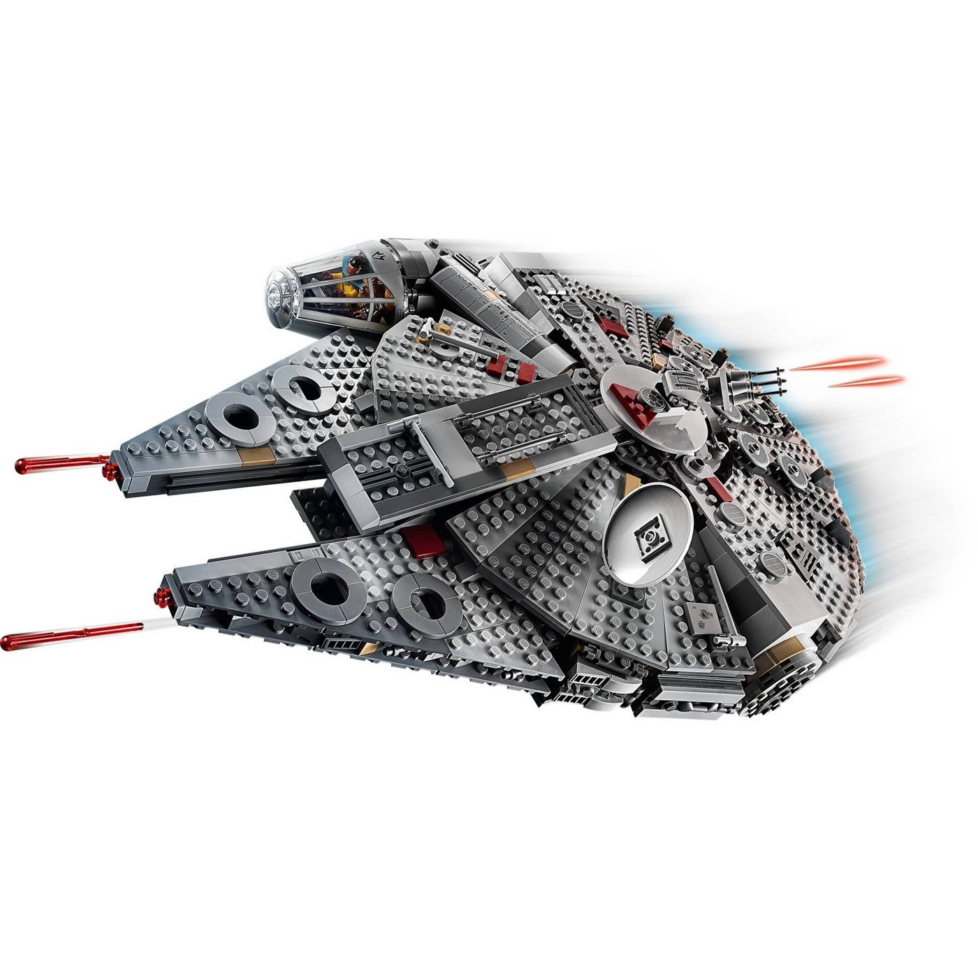 Lego Star Wars The Rise Of Skywalker Millennium Falcon Building Kit Starship Model With Minifigures 75257 Affiliate Ri Lego Star Wars Mini Figures Lego Star