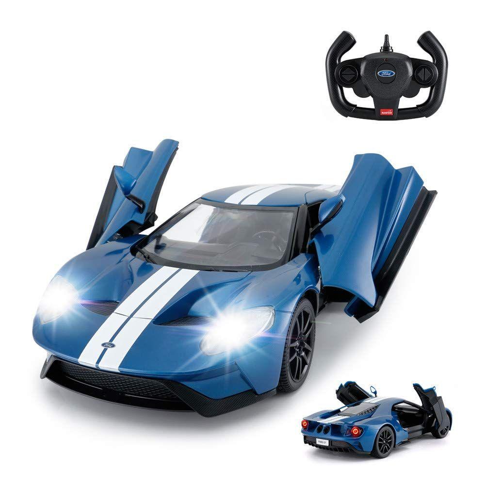 Rastar Rc Car 1 14 Ford Gt Remote Control Rc Race Toy Car For