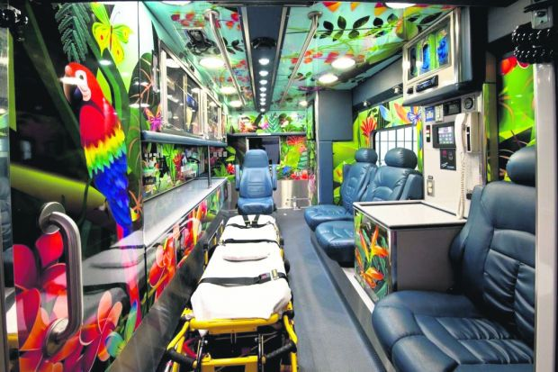 St. Louis Children's Hospital Helicopter, Mobile ICU and ...