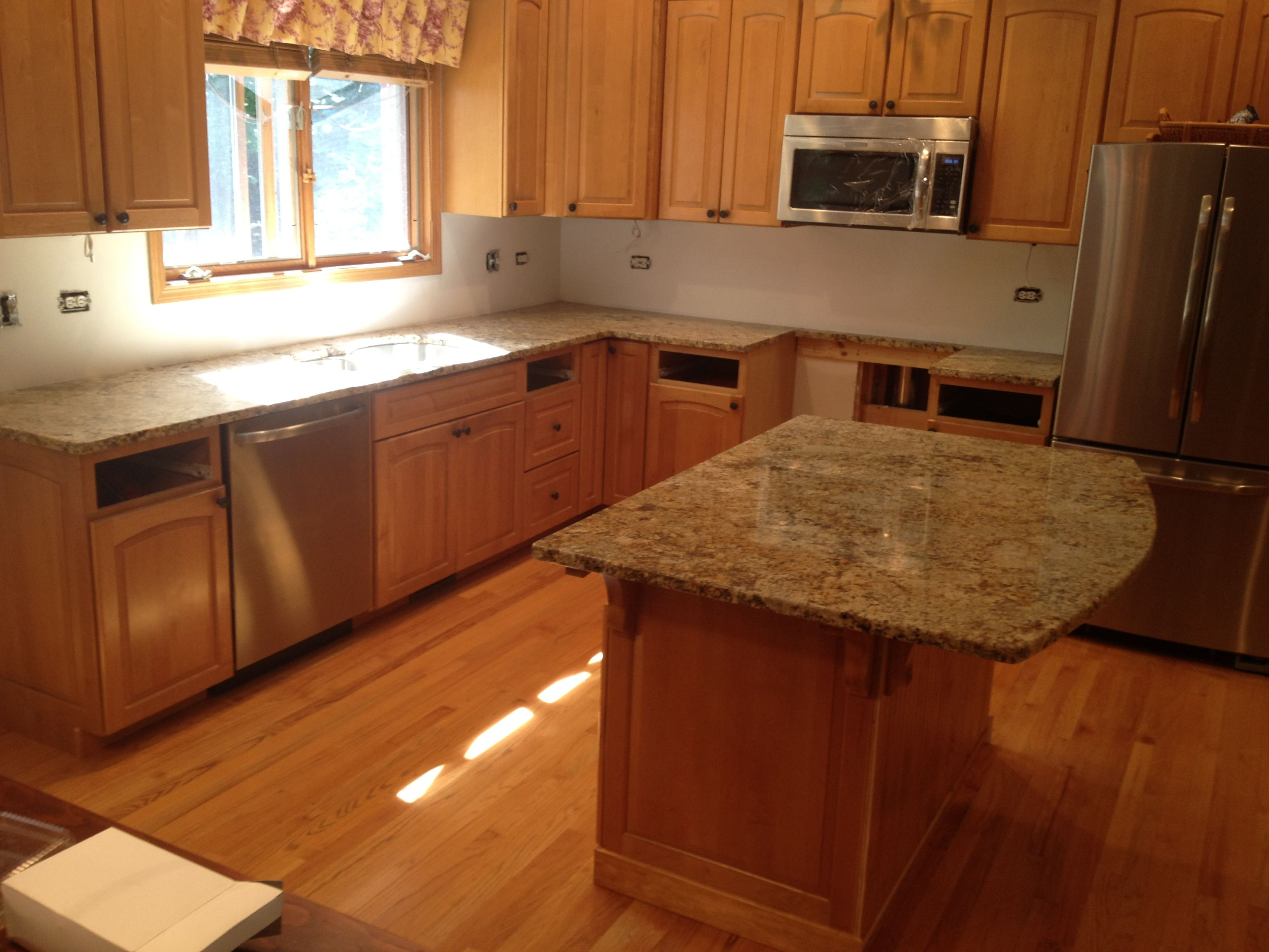 - Granite Countertops Without Backsplash - Google Search Kitchen