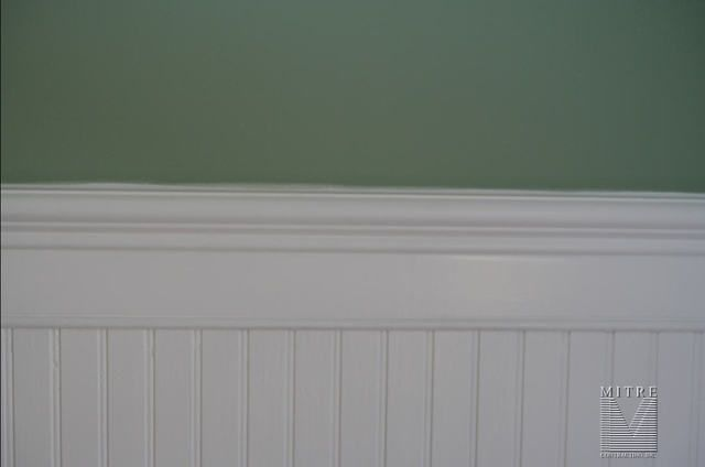 Wainscoting Chair Rail Beadboard Wainscot Close Up View Beadboard Wainscoting Wainscoting Chair Rail